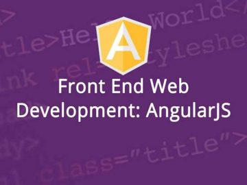 Front end web development AngularJS Course